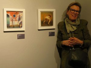 at the opening of 20x20 of Galería ArteLibre in Zaragoza on March 7th 2019