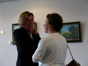 Art Round Diemen, with the Mayor of Diemen, NL, 2006